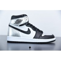 Air Jordan 1 High OG WMNS Silver Toe CD0461-001