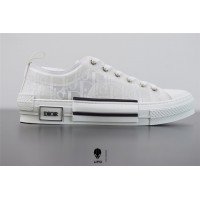 B23 Low-Top Sneaker Dior Oblique Technical Canvas and White Calfskin 3SH118YNT_H060