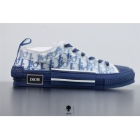 B23 Low-Top Sneaker Blue Dior Oblique Canvas 3SH118YNT_H565