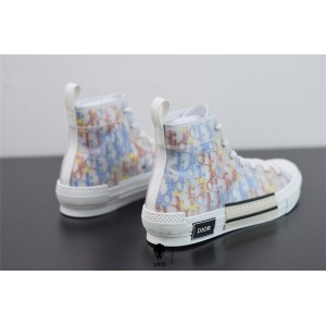 B23 High-Top Sneaker Multicolor Dior Oblique Canvas 3SH118YTI_H265