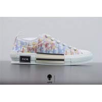B23 Low-Top Sneaker Multicolor Dior Oblique Canvas 3SH118YTI_H265