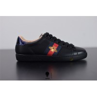 Gucci Ace embroidered sneaker Black 42944602JP01284