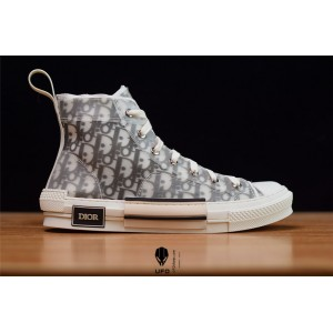 Dior x Kaw B23 High-Top Sneakers in Dior Oblique 3SH118YJP_H069