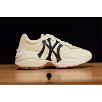 Rhyton sneaker with NY Yankees™ print 548638DRW009022